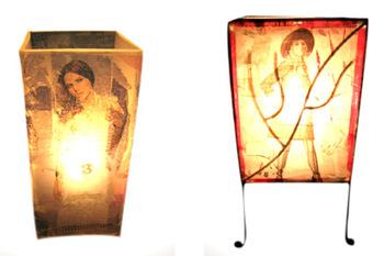 Plastikartlampe